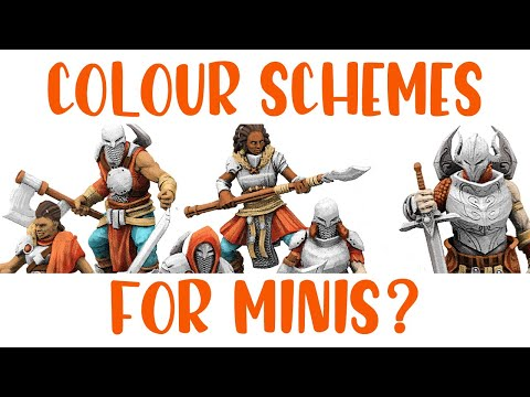 TUTORIAL - Colour Schemes For Gaming Minis Feat. Godtear!