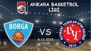 ABL l  Borga Basket 75-66 Batıkent Yıldızlar Spor Kulübü