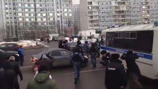 Противники строительства гостиницы в Теплом стане рассказали о полицейском произволе