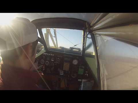 Garrett Turbine Startup Cockpit View