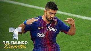 Luis Suárez registra su peor inicio goleador con el Barça | La Liga | Telemundo Deportes