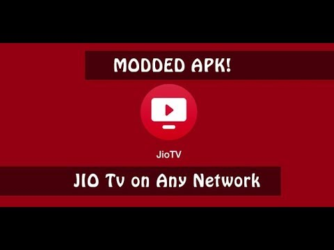 Watch jio tv on any network (with proof) | Modded jio tv method 2018