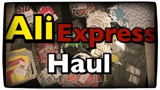 AliExpress Haul Stanzen im Test, sehr empfehlenswert, Bigshot, Sizzix