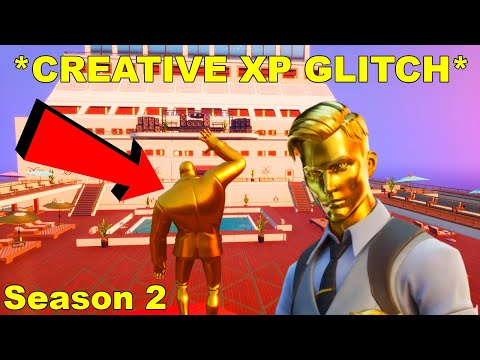 *CREATIVE XP GLITCH* Fortnite How To LEVEL UP FAST In Season 2!