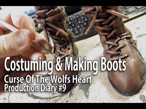 Stop Motion Animation - Costuming & Making Boots