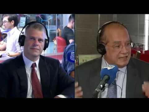 Eduardo Oinegue entrevista ministro do STF Gilmar Mendes