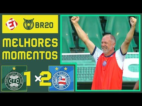 VAR ANULA GOL E BAHIA VENCE CORITIBA FORA DE CASA - MELHORES MOMENTOS - BRASILEIRÃO (16/11/2020)