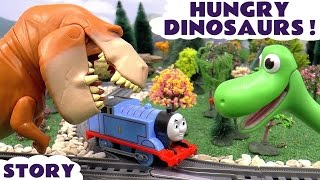 The Good Dinosaur Is Hungry | Thomas and Friends Toys Story Minions Kinder Surprise Eggs Disney