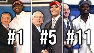 Ranking Every 1st Overall Pick Since 2000