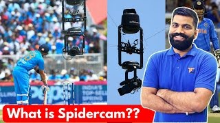 What is Spidercam? Best Camera for Sports??? Explained