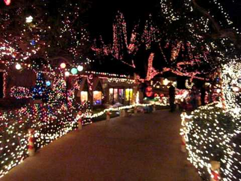 Christmas Lights on Garrison - YouTube