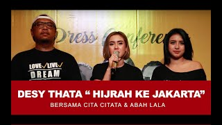 DESY THATA KEJAR KARIR KE JAKARTA...!!!!