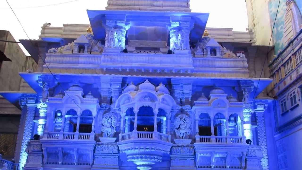 Lighting Decorative Jain Mandir At Kolhapur