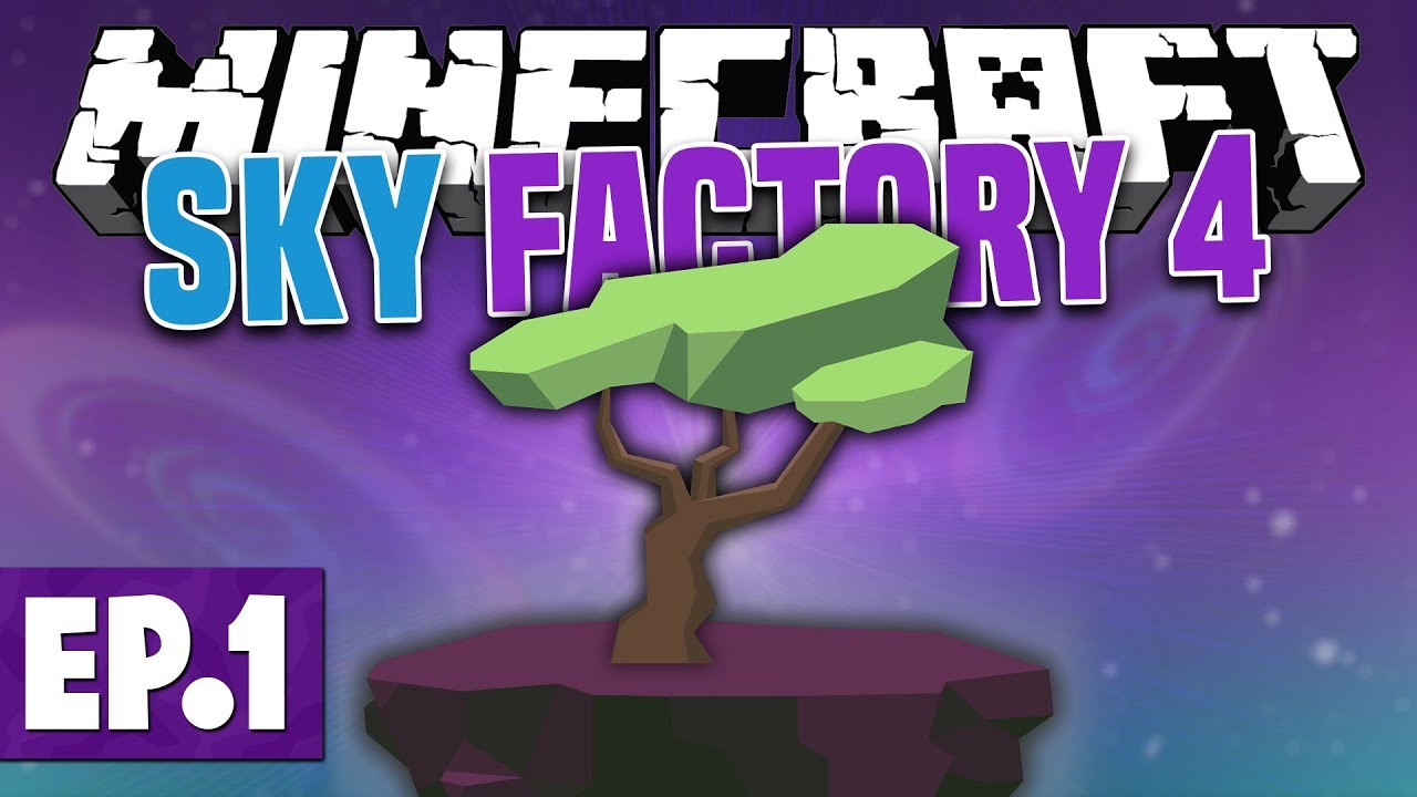 Minecraft Sky Factory 4 - A NEW KIND OF SKYBLOCK! #1 [Modded
