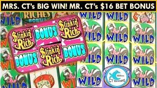 *Catch of the Day* Stinkin' Rich Slot Machine Bonuses - Big Wins, Big Bets, First Spin Bonus