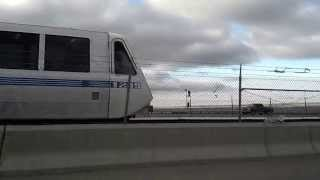 Racing a Bay Area Rapid Transit (BART) train