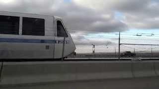 Racing a Bay Area Rapid Transit (BART) train