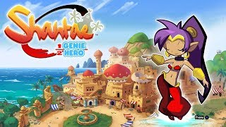 Shantae Half Genie Hero -  Desert tower