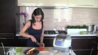 Рецепт супа Минестроне в Скороварке UNIT USP-1100D