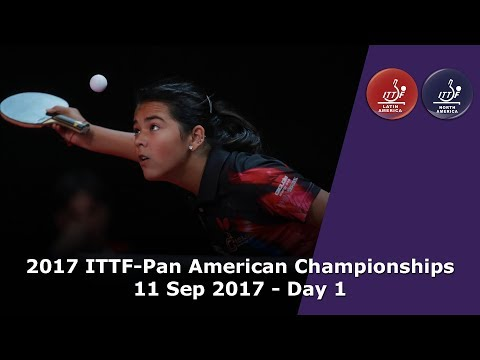 2017 ITTF-PanAm Championships - Day 1
