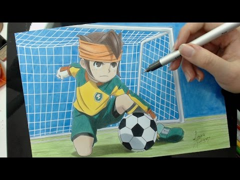 Speed Drawing - Mamoru Endou (Inazuma Eleven)