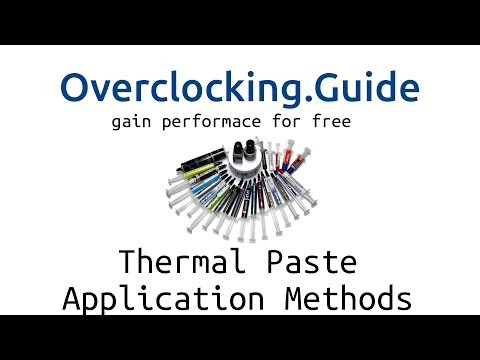Thermal Paste Application Methods 2015 - Test with new products including Liquid Metal