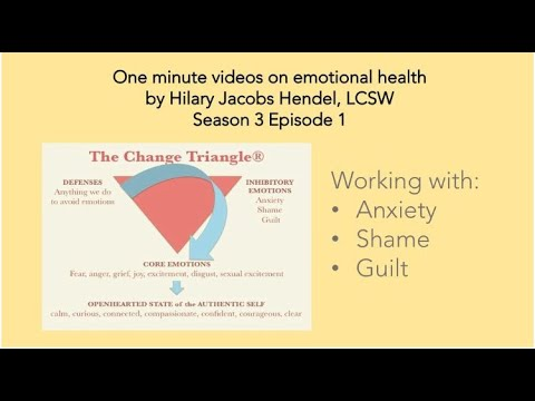 Season 3 Episode 1: Inhibitory emotions of anxiety, guilt, and shame