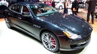 2014 Maserati Quattroporte V8 Sport - Exterior and Interior Walkaround - 2013 Detroit Auto Show