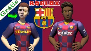 MESSI FREE ITEM FROM BARCELONA AT ROBLOX?