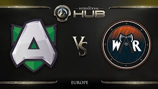 Alliance vs Wind and Rain Game 3 - TI8 EU Open Qualifiers: Round of 4 - @ODPixel @Sheever