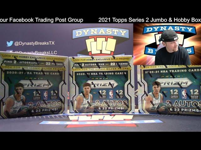 2020 21 Prizm Basketball Card 3 Box Partial Case Break #3   Sports Cards