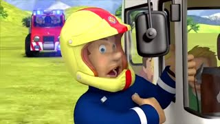 Пожарный Сэм на русском 🔥Неудержимый автомобиль 🚒 Эпизоды Компиляция | Новые серии 🔥 мультфильм