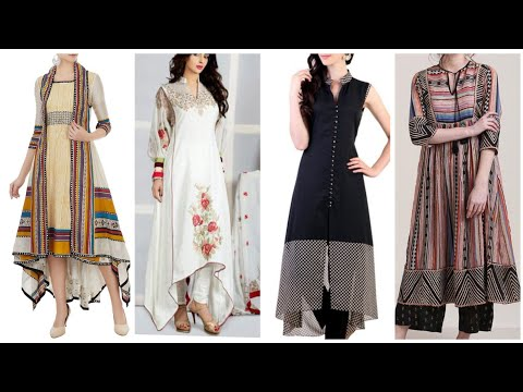 stylish-and-trendy-comfortable-long-shirts-summer-dresses-design-for-girls
