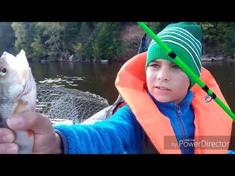 Рыбалка на Каме под Берсутом. Рак, уж и щука😎