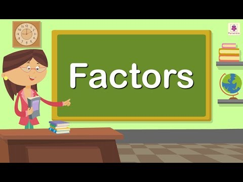Learning Factors Made Easy | Maths For Kids | Periwinkle