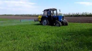 Трактор МТЗ 82.1 и опрыскиватель Polmark 800 (гербицид + стимулятор роста)(Трактор МТЗ 82.1 и опрыскиватель Polmark 800 (гербицид + стимулятор роста) https://youtu.be/qc8No1_SCtM Трактор МТЗ 82.1 (Беларус)..., 2016-05-20T20:06:44.000Z)