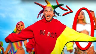 All Things You Missed In 6IX9INE - TUTU (Official Music Video)