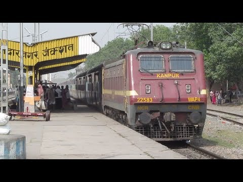 Kanpur WAP4 with Patna-Kota Express Blast Through Dildarnagar at MPS !!