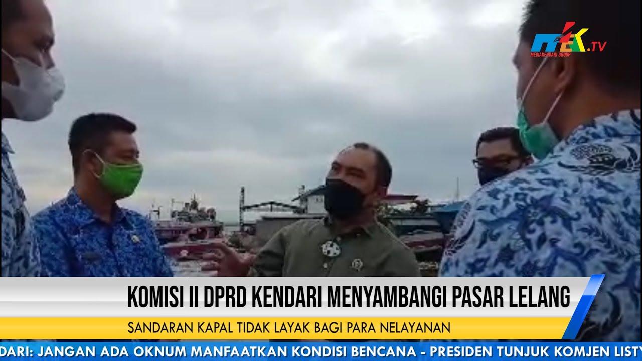 Komisi II DPRD Kendari Menyambangi Pasar Lelang