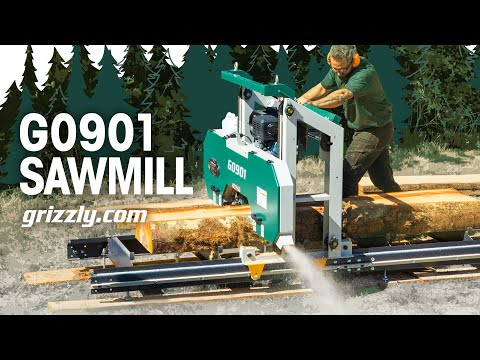 Grizzly's NEW Portable Sawmill