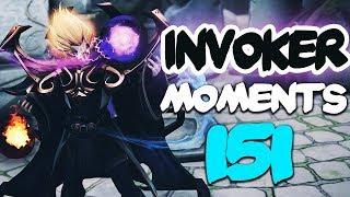 Dota 2 Invoker Moments Ep. 151