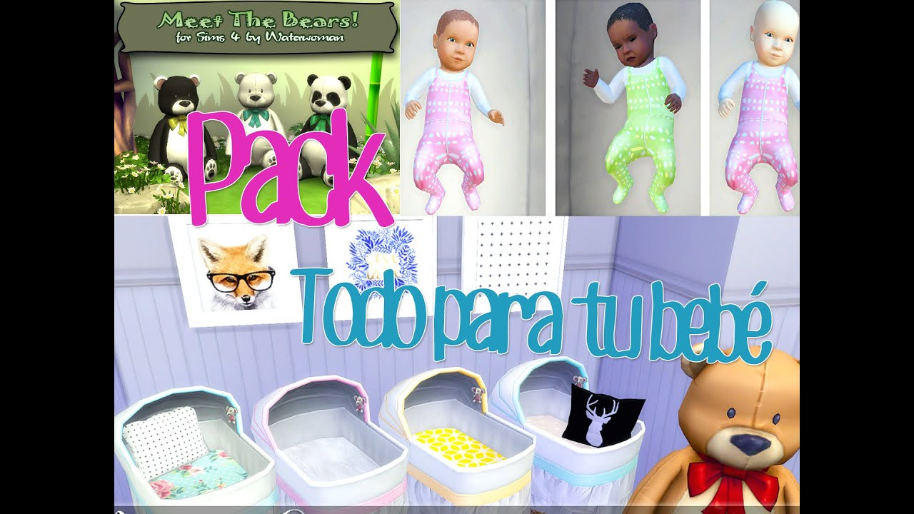 Baby Clothes For Sims