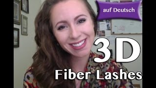 Younique 3D Fiber Lashes Tutorial - auf Deutsch