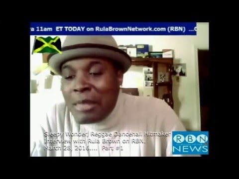 SLEEPY WONDER Interview with Rula Brown Talk Dancehall History and Queen Majesty Part1