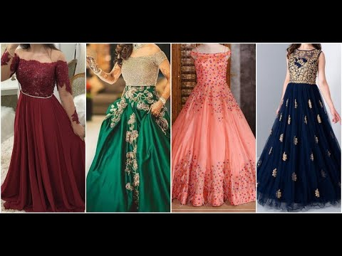 Party Wear Gowns , Evening Gowns , Indian Wedding Gowns , Beautiful Gowns For Reception , Gowns 2019
