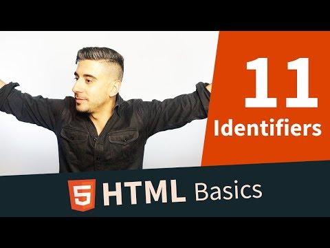 HTML Tutorial — Class, ID, Selectors, Identifiers (11/11)