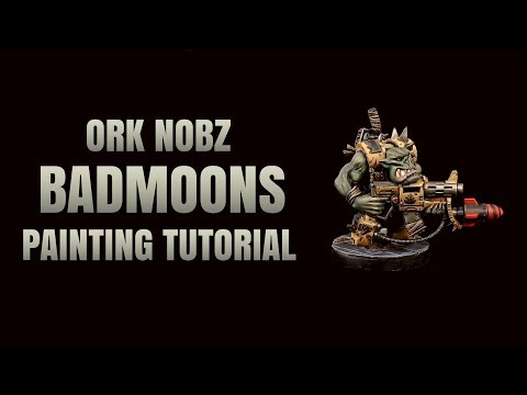 Ork Nob Badmoon Painting Tutorial
