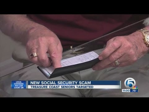 New social security scam