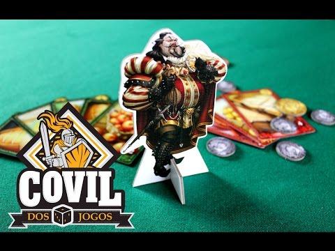 Covil dos Jogos - Review e Gameplay Sheriff of Nottingham