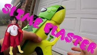Kai Reviews Ryan's Toy Slime Blaster